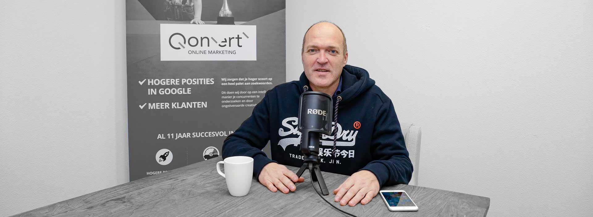 SEO Podcast maker Hans Keeren